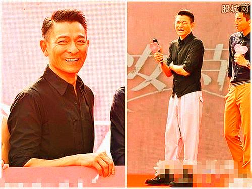 万人迷华神刘德华20日来台参加电影《我的少女时代